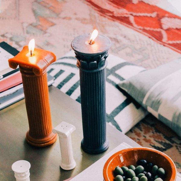 Κεριά - κηροπήγια - αρώματα χώρου
